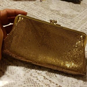 Vintage Whiting and Davis small clutch